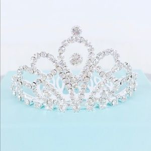 Audrey Styled Costume Center Hair Crystal Tiara